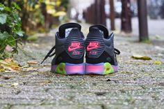 Nike Air max 90 Sneakerboot ICE Dark Grey Black - 684722-002