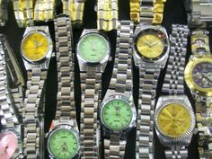 Colorful Dial Watches 2