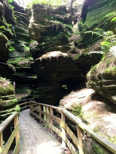 SHORT hike - Review of Witches Gulch, Wisconsin Dells, WI - TripAdvisor