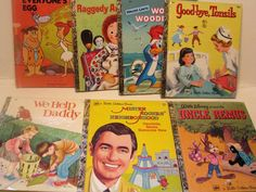 Mixed Lot of Vintage -Little Golden Books plus Wonder book- Uncle Remus, Woody Woodpecker, Raggedy Ann and Fido, Mister Rogers - Plus More! by ScrapPantry, $18.00 USD