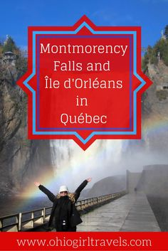If you're looking for a beautiful road trip from Québec City, a trip to Montmorency Falls and Île d'Orleans is sure to impress. You'll see the beautiful falls before crossing the Lawrence River for a scenic road trip in Québec. Click through to find out why this is day trip is a must when you're visiting Québec. You'll want to save this day trip from Québec to your travel board.