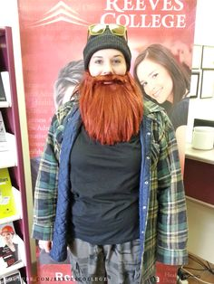Reeves College Lloydminster Campus Students, Staff and Faculty in Halloween Costumes - Kassidy With Beard Subscribe to Reeves College: http://www.youtube.com/subscription_center?add_user=ReevesCollege #ReevesCollege #Lloydminster #Campus #Students #Staff #Faculty #Halloween #Costumes #Kassidy #With #Beard