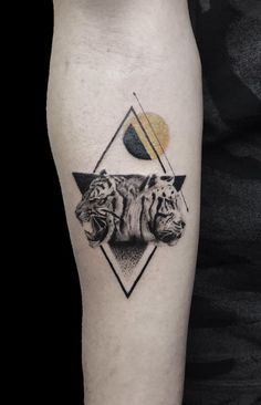 Small Tigers Tattoo