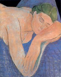 Henri Matisse  The Dream    Musée Nazional d'Art Modern  Centre Georges Pompidou, Paris