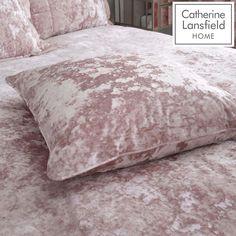 Crushed Velvet Cushion Cover Catherine Lansfield Size: 45 x Colour: Blush Velvet Duvet, Velvet Cushions, Bed Covers, Duvet Cover Sets, Large Cushions, Crushed Velvet, Elegant, Bed Spreads, Pillow Shams