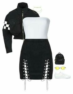 featuring moda, ONIA, adidas, Aqua and Gucci Boujee Outfits, Swag Outfits For Girls, Cute Swag Outfits, Kpop Fashion Outfits, Girls Fashion Clothes, Stage Outfits, Retro Outfits, Polyvore Outfits, Stylish Outfits