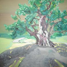 The Olive Tree - 1500 years old ... he contains the memories of all who have walked that path through time ...