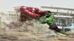 New AVENGERS 2, GUARDIANS OF THE GALAXY Concept Art by Charlie Wen, Andy Park and Others « Film Sketchr