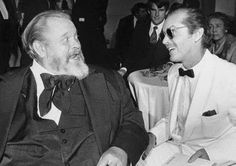 Orson Welles and Jack Nicholson