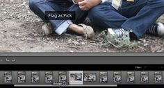 Basic Lightroom Workflow. Man I have to start using the 'Pick' Button!
