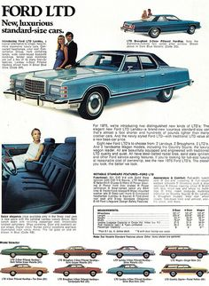 Learn How To sell your photos online easily And Make Profits. Vintage Advertisements, Vintage Ads, Vintage Stuff, Ford Ltd, Ford Lincoln Mercury, Ford Classic Cars, Car Advertising, Us Cars, Old Ads