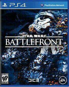 Star Wars Battlefront on PS4.