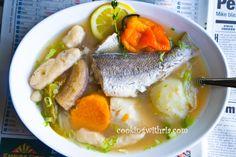 Trinidad Fish Broth