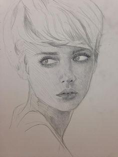 Portrait, Dave Seguin on ArtStation at http://www.artstation.com/artwork/face-84b645ad-d9f7-4ca7-8188-12e661b26c9c