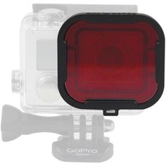 Polar Pro Red Glass Dive Filter for GoPro HERO3+ Housing Color-Correction for Blue/Tropical Water Snap-On/Off Attachment Slim Frame Glass Filter Works at Depths Between 10 and 80'