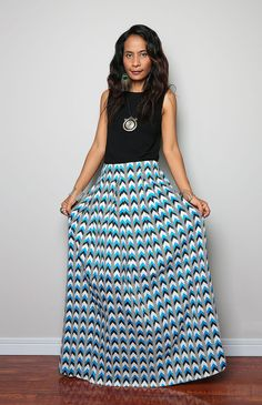 Hey, I found this really awesome Etsy listing at https://www.etsy.com/listing/188896266/maxi-skirt-chevron-print-maxi-skirt-feel