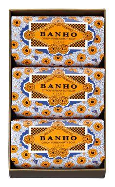 Ach. Brito & Claus Porto Soaps - Since 1887 / Made in Portugal #Design #Portugal