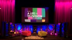 Stage set for BAFTA Life in Television  https://www.bafta.org/195-piccadilly/case-studies/a-life-in-television-julie-walters