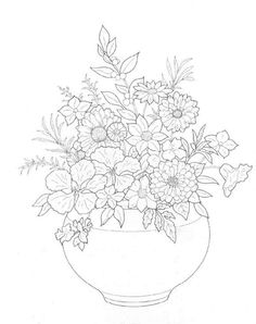 ✖️Flowers Coloring Pages✖️More Pins Like This One At FOSTERGINGER @ Pinterest✖️