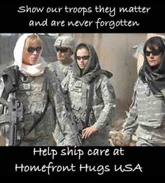 SHOW OUR TROOPS THEY MATTER AND ARE NEVER FORGOTTEN. HELP SHIP CARE AT HOMEFRONT HUGS USA. THANK YOU FOR YOUR SACRIFICE. COME HOME SAFE TO A GRATEFUL NATION AND YOUR FAMILIES.