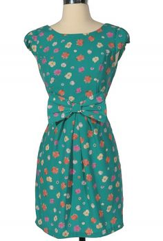 1c803506ebc Blossom and Bow Floral Dress Celebrity Clothing