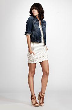 <3 Jean jackets & dresses!!!