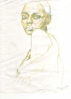 very old pencil sketch madebyharry