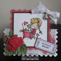 Marianne Design, Daisy, Blog, Christmas Ornaments, Holiday Decor, Frame, Cards, Home Decor, Stamps