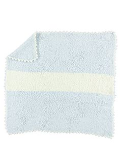 Barefoot Dreams Cozy Chic Striped Receiving Blanket  Blue -- Want to know more, click on the image.