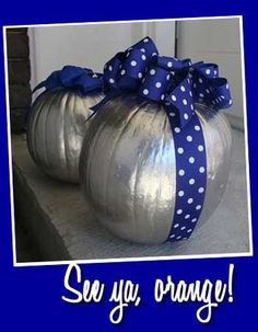 spray painting pumpkins for other uses