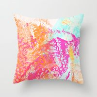 Throw Pillow featuring Treasure by Edem