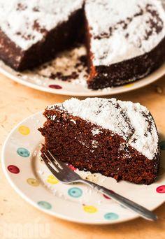 Wegańskie ciasto czekoladowe, najlepsze i najprostsze