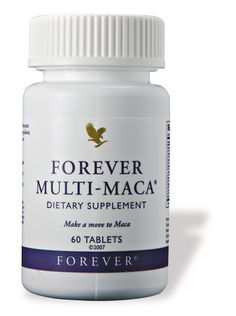 Forever Multi-Maca combines legendary Peruvian maca with other powerful herbs & select ingredients for reproductive health. Multi Maca, Forever Living Aloe Vera, Forever Aloe, Forever Living Business, Chocolate Slim, Forever Living Products, Nutritional Supplements, Protein Supplements, Health And Wellbeing