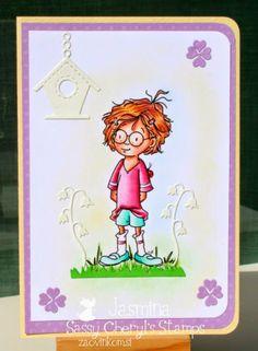 Sassy Cheryl's Digi Stamps Challenge Blog