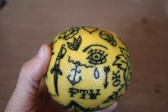 From moon 2 moon - When beginning a tattoo apprenticeship, fruits are...