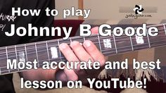 Johnny B Goode - Chuck Berry - Intro and Rhythm Guitar Lesson (SB-425) B...