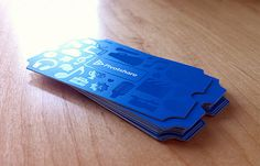 PivotShare | #Business #Card #letterpress #creative #paper #businesscard #corporate #design #visitenkarte #corporatedesign < repinned by www.BlickeDeeler.de