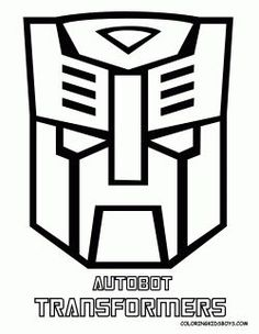 autobot transformers logo coloring pages disney coloring pages