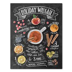 Holiday Wassail Recipe - Print