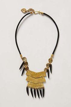 Anthropologie - Harambee Bib Necklace