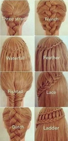 different kind of hair style 1000 ideas about braid tutorials on 7130 | df0d630e9de91e900647cd237ced75a4