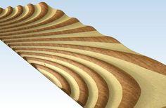 3D relief panel for Artcam Voratinkliai IM...