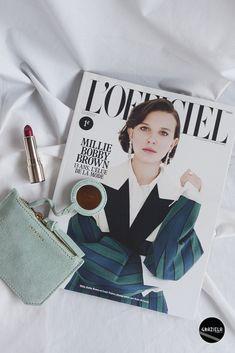 Fashion Magazine #makeup #lofficiel #clarins #batom #lipstick #maquilhagem #beauty