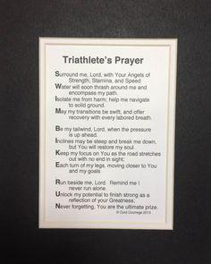 Triathlete's Prayer