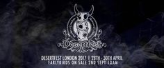 Early bird tickets for DESERTFEST LONDON 2017 now on sale! 5th anniversary documentary online!WithGuitars