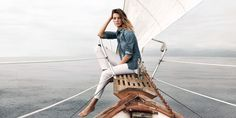 AG Jeans - Spring 2015 Model: Daria Werbowy Photographer: Lachlan Bailey   - HarpersBAZAAR.com