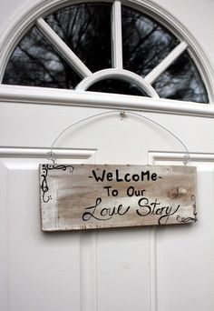 Love the saying. need this for my front door!