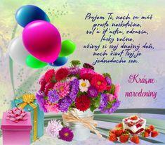 Priania k narodeninám a meninám 2 – pre potešenie duše Cake, Desserts, Food, Tailgate Desserts, Deserts, Kuchen, Essen, Postres, Meals