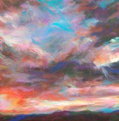 Art defines me! Illustrations, Illustration Art, Pastel Sky, To Infinity And Beyond, Art For Art Sake, Love Art, Painting Inspiration, Bunt, Original Paintings