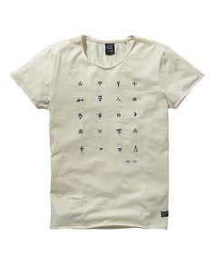 T-shirt Amsterdams Blauw